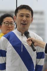 190610 赤岡修次騎手紹介式-02