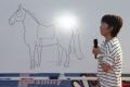 190802 稲村亜美さん×おがわじゅりさんスペシャルステージ お馬さんの描き方-02