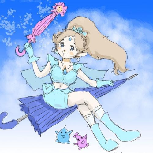 雨上がりの魔法少女