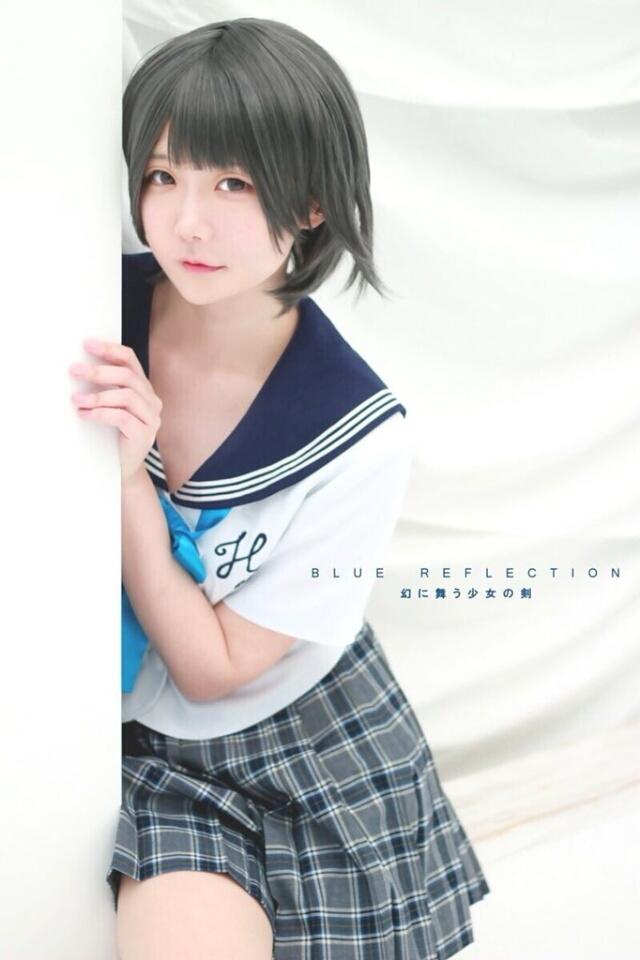☆BLUE REFLECTION 幻に舞う少女の剣 白井日菜子@Studio Quartz☆