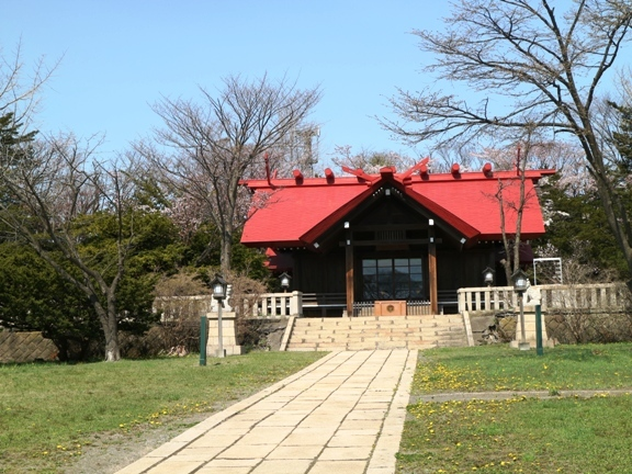 1御傘山神社