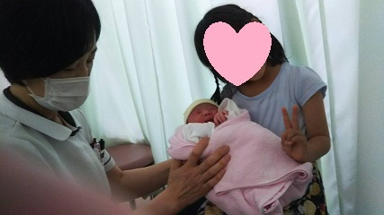 Nちゃんと赤ちゃん