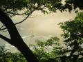 不思議な川霧