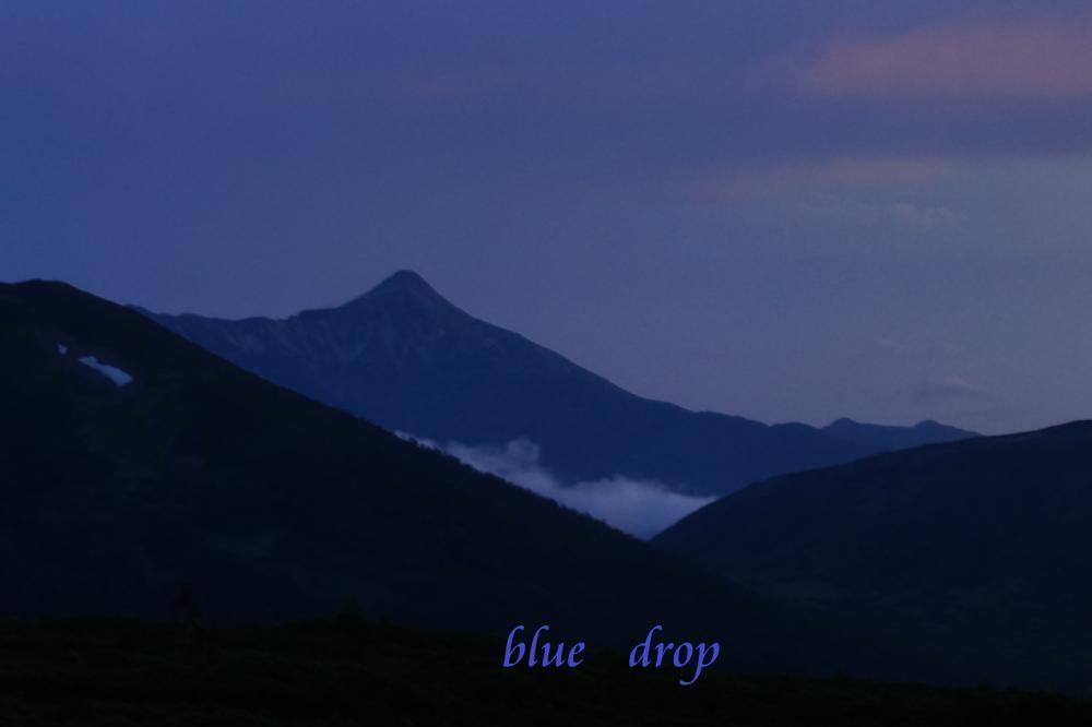 夕暮れの笠ヶ岳*