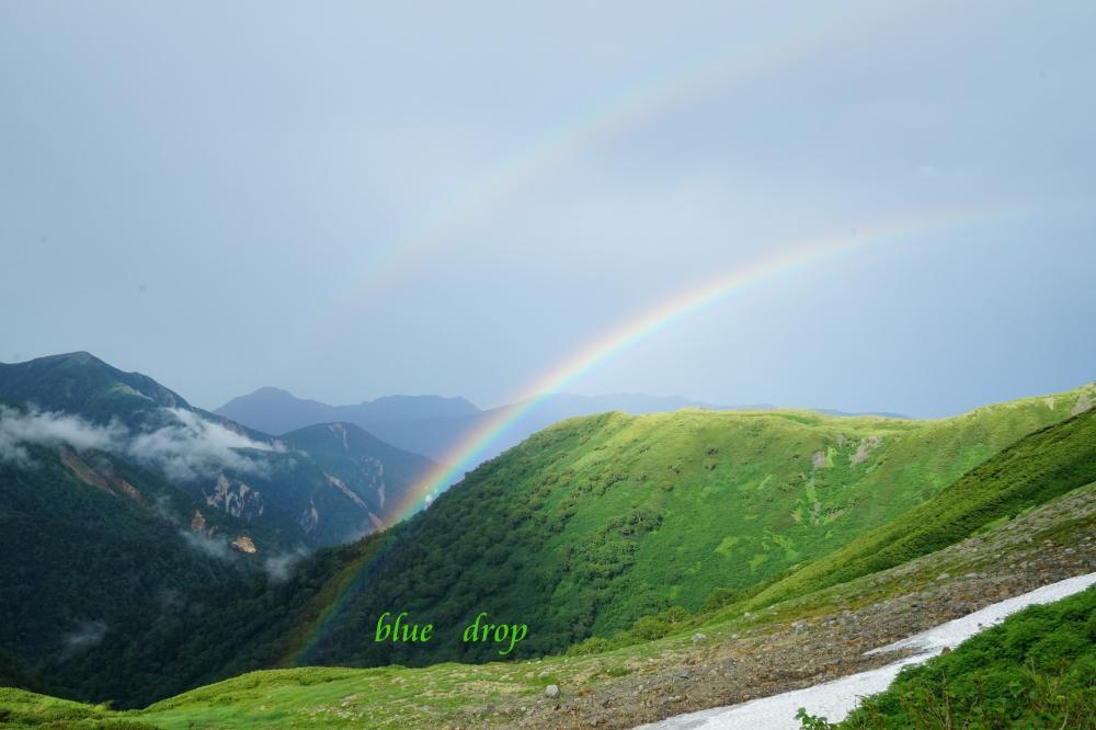 雨上がりの虹*