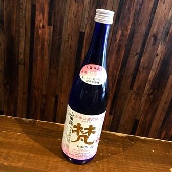 梵 純米大吟醸生原酒 しぼりたて初雪 山田錦