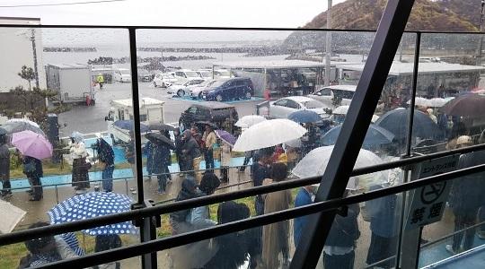 加茂(くらげ)水族館・入場制限