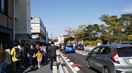 松島の街並みを散策