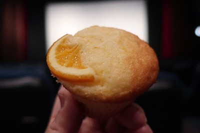 映画前オレンジマドレーヌ