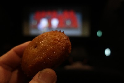 映画前焼きキャラメルケーキ3