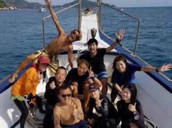 タオ島、ダイビング、スキューバダイビング、コーラルグランドダイバーズ