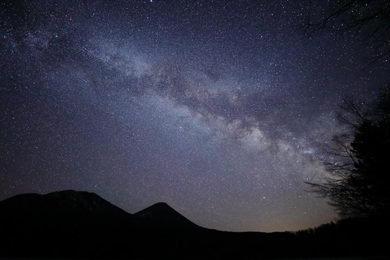 7755 満天の星空と天の川