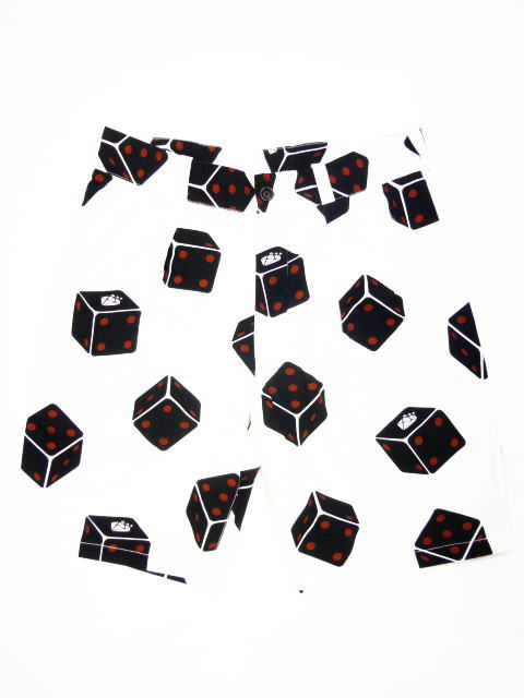 GANGSTERVILLE TUMBLING DICE-SHORTS