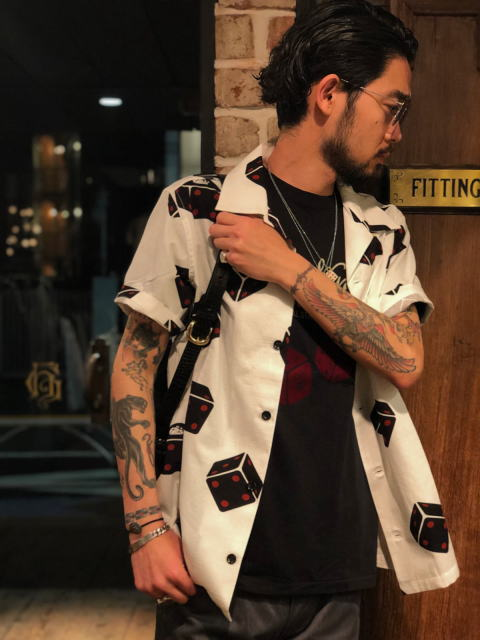GANGSTERVILLE TUMBLING DICE-S/S SHIRTS