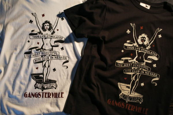 GANGSTERVILLE LADY of NEVADA-S/S T-SHIRTS