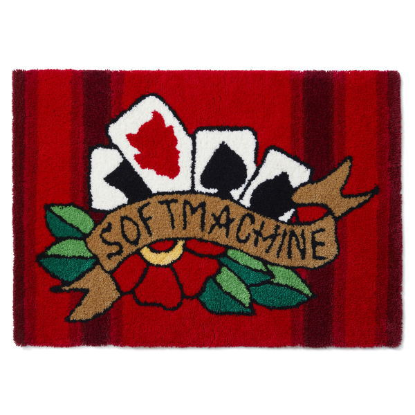 SOFTMACHINE FOUR CARDS RUG