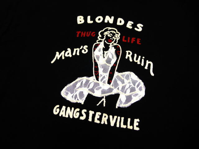 GANGSTERVILLE BLONDES-S/S SHIRTS