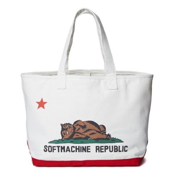 SOFTMACHINE CHILLIN' TOTE BAG