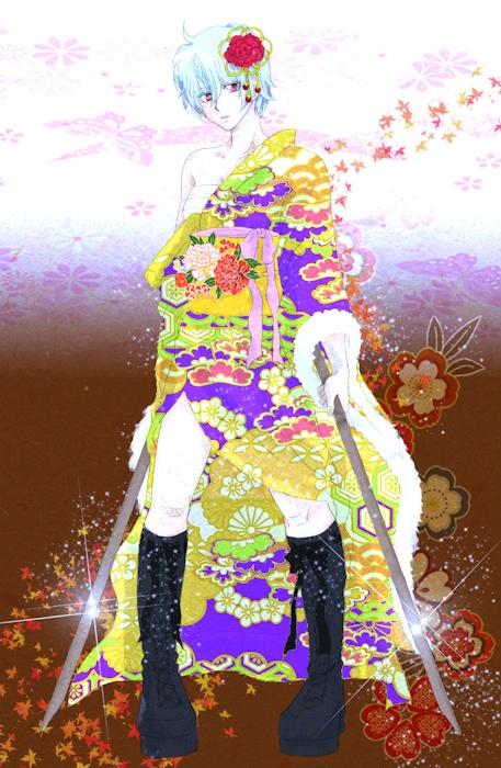 銀子(坂田銀時) 銀魂