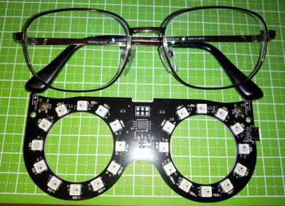 エモグラスと眼鏡