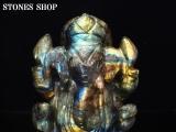 ラブラドライト ガネーシャ神像1-5