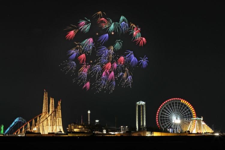 2019-8-4長島花火・単発0S8A9921