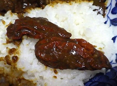 18禁カレー 超痛辛チキンカレー(黒)(ジョロキア2本)