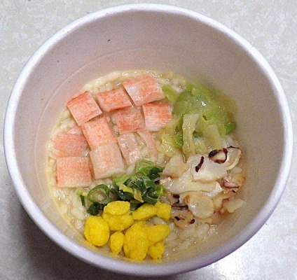 7/8発売 カップヌードル シーフードヌードル ぶっこみ飯(できあがり)