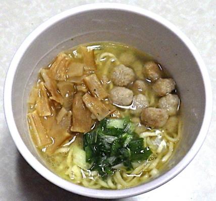 4/15発売 謹製 山椒香る塩そば(できあがり)