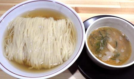 麺や清流 サンマ水つけ麺