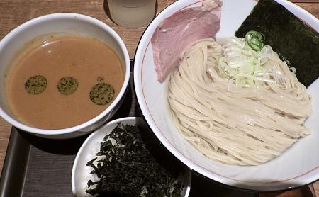 麺と心 7 雲丹つけ麺&焼海苔ごはん