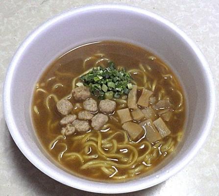 4/29発売 マルちゃん 正麺 カップ 濃い煮干醤油(できあがり)