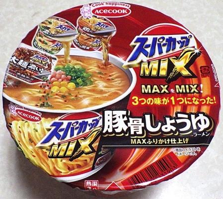 7/8発売 スーパーカップMIX 豚骨しょうゆラーメン MAXふりかけ仕上げ