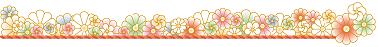菊の花ライン イラスト