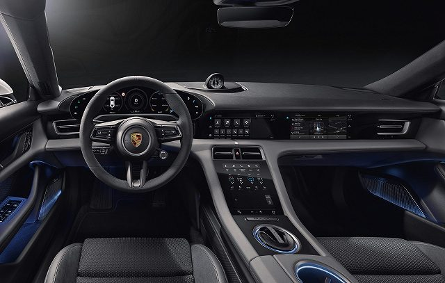 Porsche Taycan Interior 93 (1)