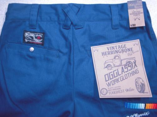 2 blog OG Classix Low Rod Herringbone ワーク・パンツ Blue11100706_58239de38177e