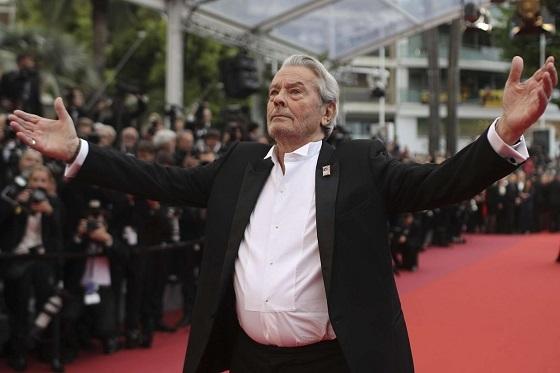 アラン・ドロン、カンヌ映画祭