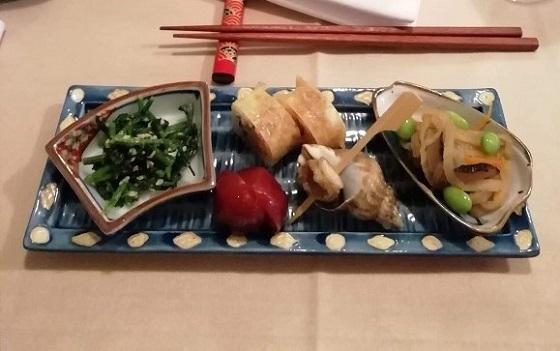 パリ、日本料理「河本」