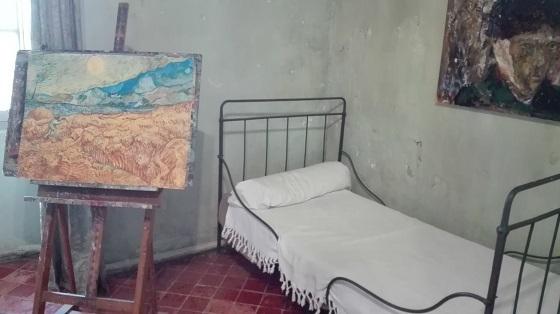 ヴァン・ゴッホの病室
