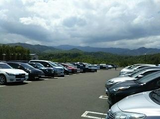 真駒内駐車場