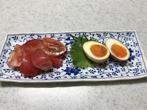 トマトとスタミナ卵