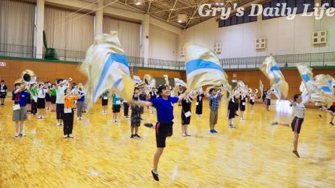 9072701初めての体育館練習の日