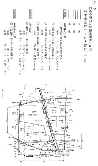 東京都公報による都道情報2 - 道徒然話保管
