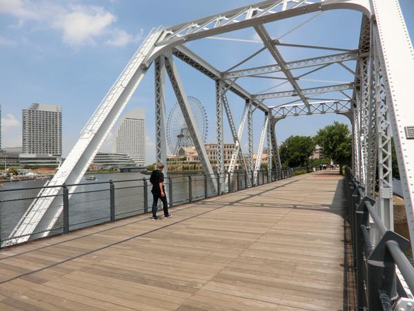 横浜臨港線、廃線路に鉄道橋が残っていた!