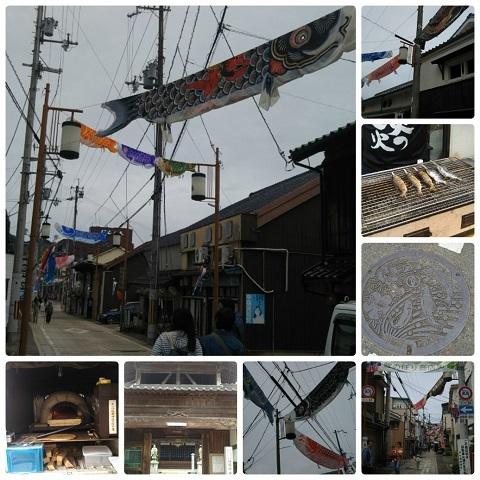 平成31年4月28日鯉のぼり商店街