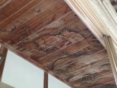 20天井に龍の絵