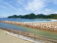 9田井の浜
