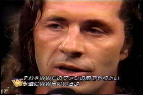 WWFファンの前でやりたい