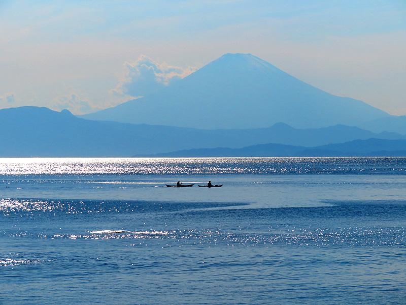 180520,シーカヤックと凪の相模湾2