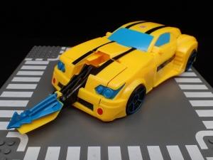 トランスフォーマー サイバーバース TCV-05 スティンガーソード バンブルビー (19)